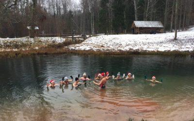 Ziemas pelde grupā